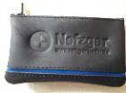 011145  /20 Schlüsseltasche Nylon-RV mit Farbstreifen, + Blindprägung