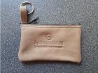 011141  /21 Schlüsseltasche Nylon-RV, Leder, + Werbedruck