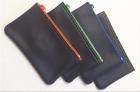 011148  /20 Schlüsseltasche m. farbiger Doppelnaht + farbigem Nylon-RV